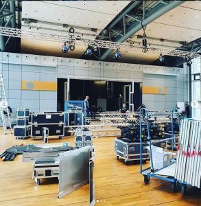 Gelieferte Event-Technik für eine Veranstaltung durch Harb Entsorgung in Berlin